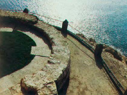 Restos de la torre del antiguo fortín s.XVII
