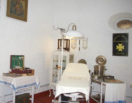 """La nueva Sala de Sanidad del Museo de Historia Militar """"El Desnarigado"""" de Ceuta. (Una ventana a la sanidad militar del siglo pasado)."""