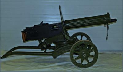 Ametralladora Maxim M1910/30.