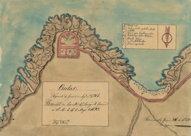 La Fortaleza del siglo XVII.