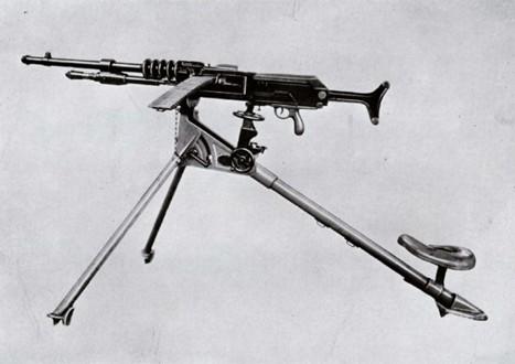 Ametralladora Hotchkiss M1914 calibre 7 mm.