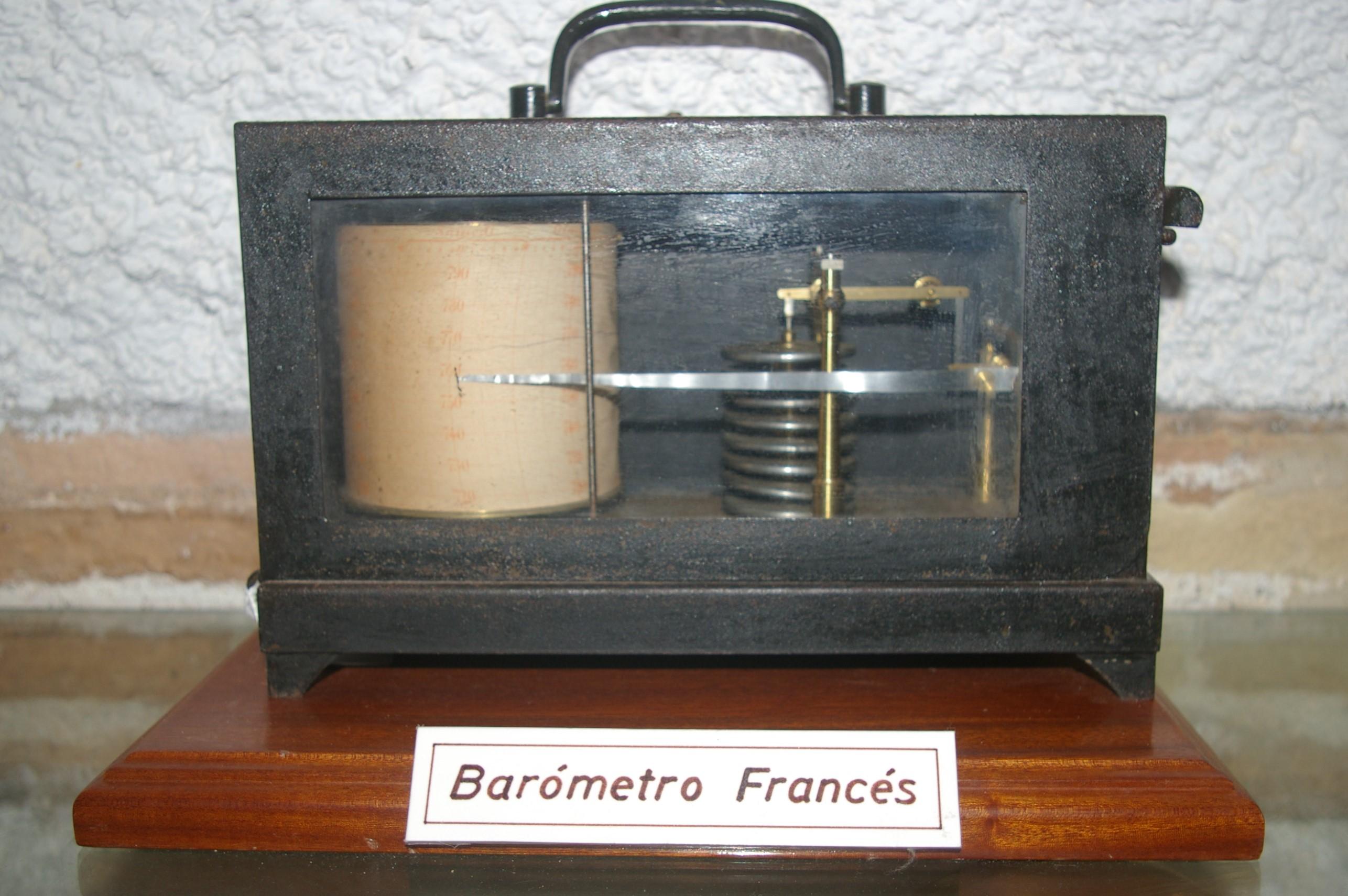 Barógrafo aneroide Registrador Jules Richard