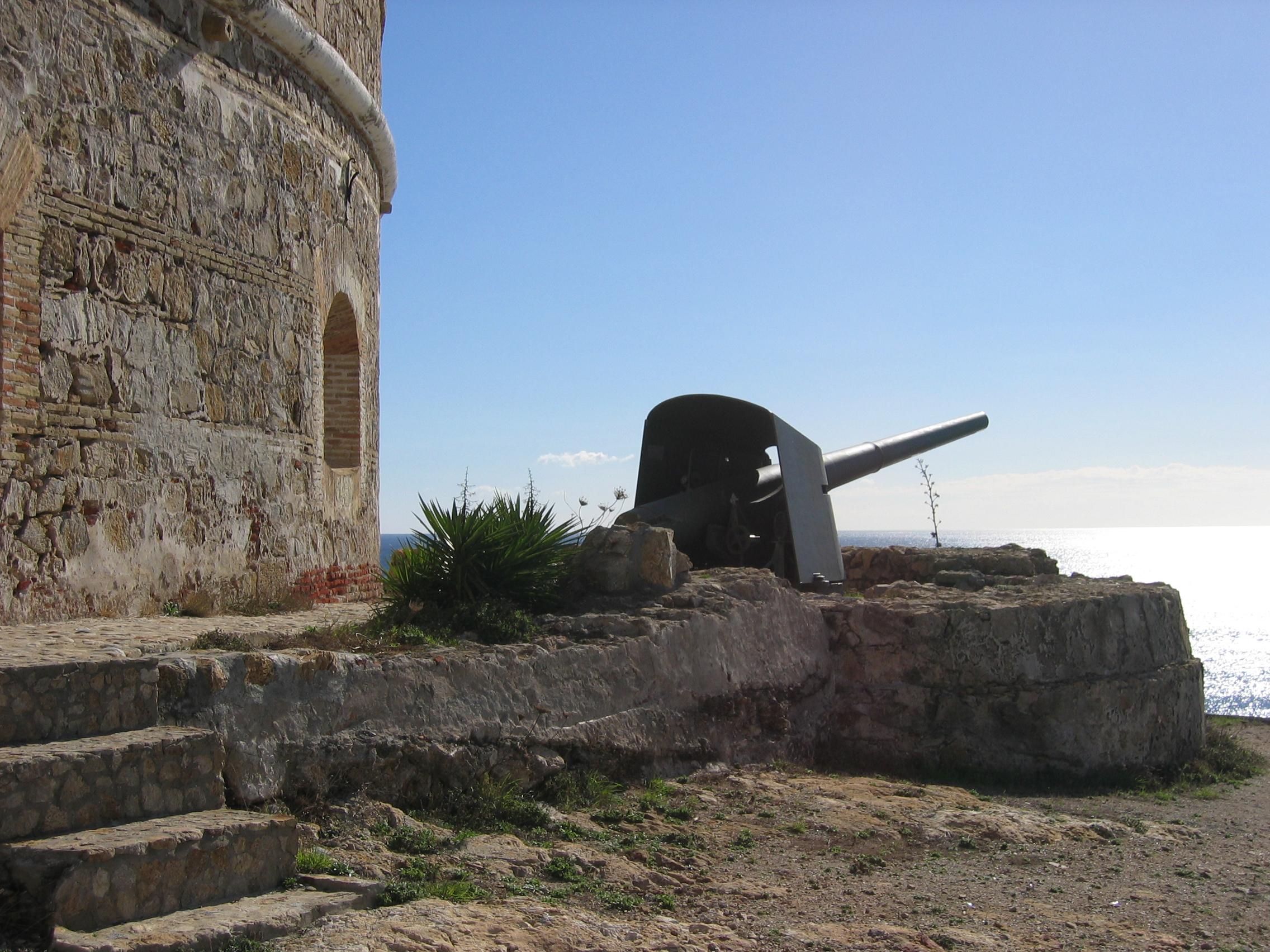 Cañón de acero de costa Munaiz-Argüelles