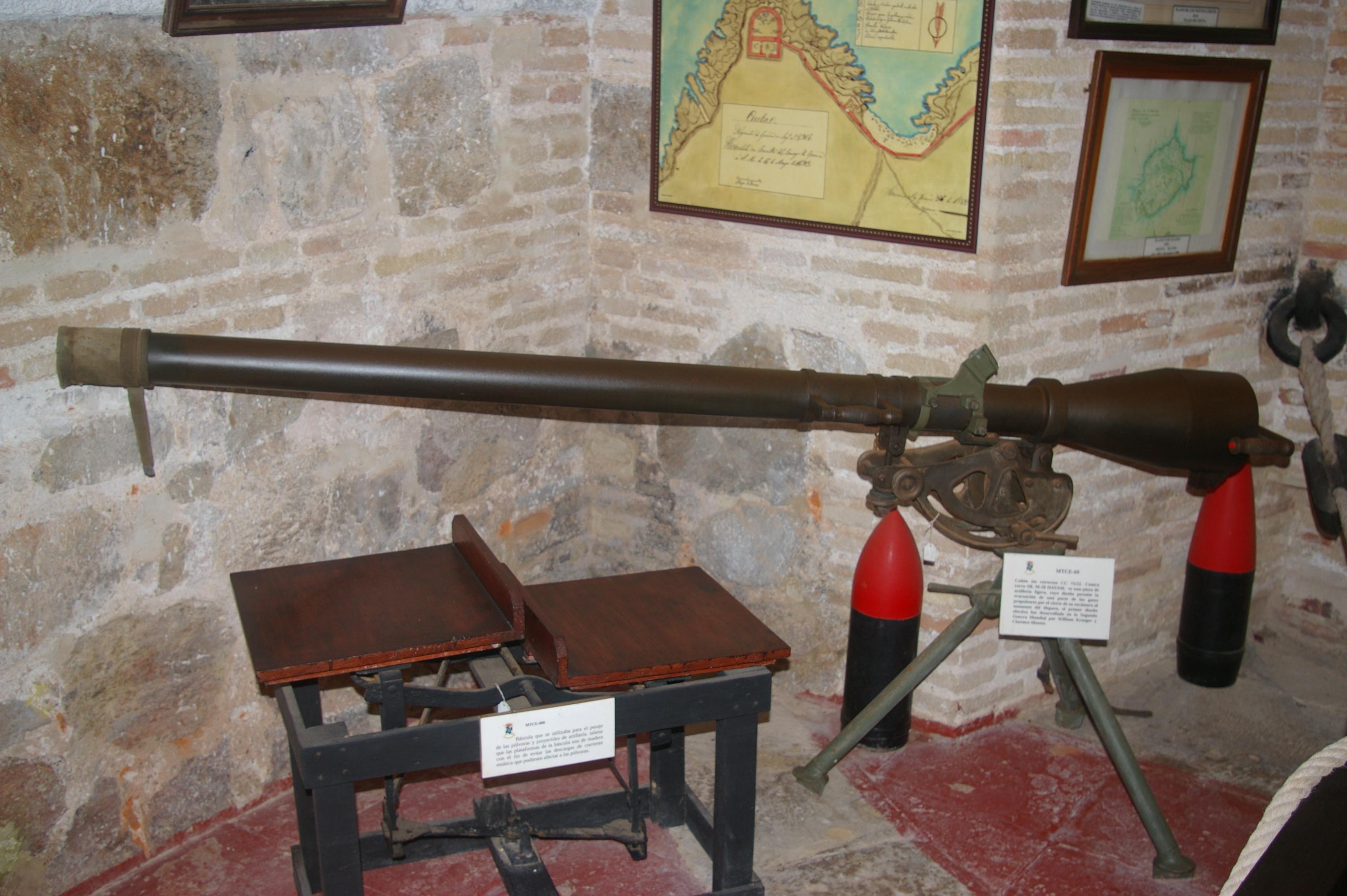 Cañón sin retroceso de 75mm M-20